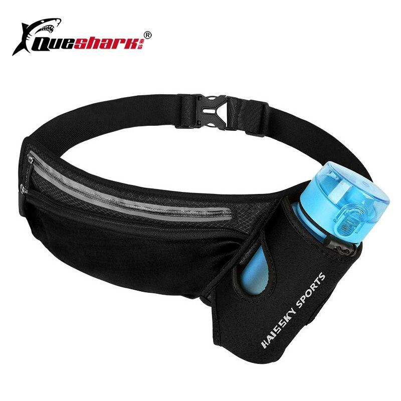 Running Marathon Waist Bag Sports Climbing Hiking Racing Gym Fitness Lightweight Hydration Belt Water Bottle Hip Waist Pack