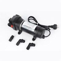 AC 110V/220V 40PSI/2.8Bar Lift 25m Electric Water Pump mini Diaphragm Pump bilge pump Submersible pumps FL 41 FL 43