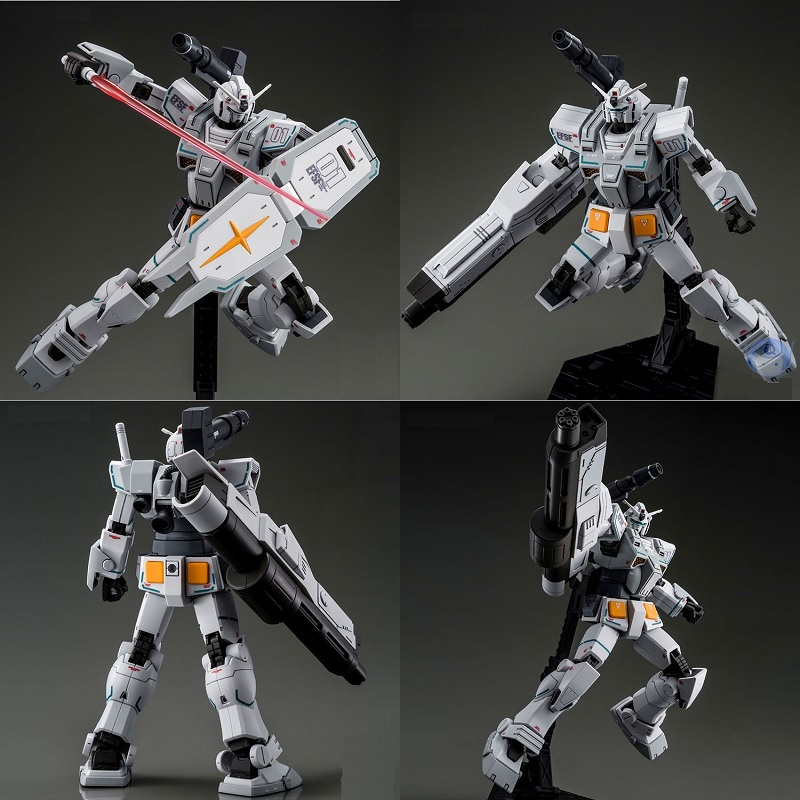 Original Gundam Model PB HG 1/144 FA-78-2 HEAVY GUNDAM ROLLOUT COLOR Unchained Mobile Suit Kids Toys