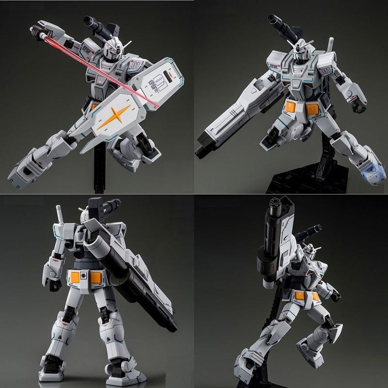 Original Gundam Model PB HG 1/144 FA-78-2 HEAVY GUNDAM ROLLOUT COLOR Unchained Mobile Suit Kids Toys