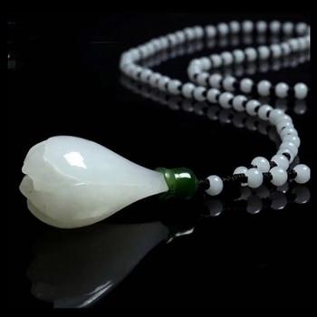 Натуральный резной кристалл цветок чакра камни Кристалл ожерелья подвеска маятник ожерелье для женщин Исцеление Рейки ювелирные изделия