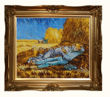 Rest from Work by Vincent Van Gogh Handpainted