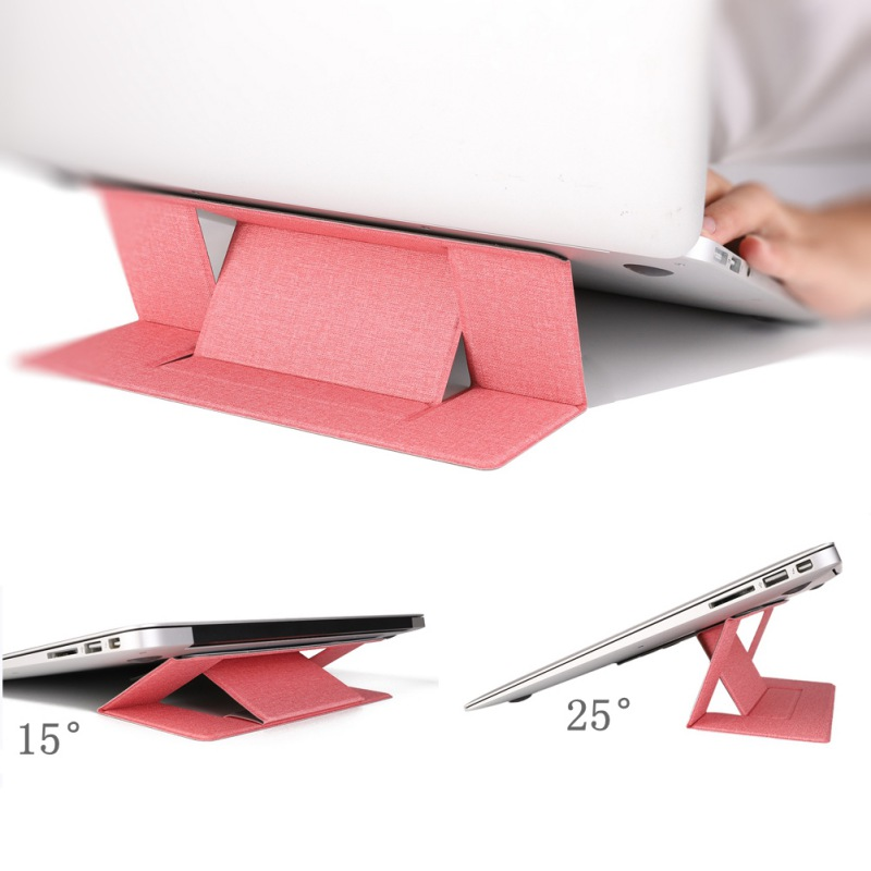 Portable Bracket For Macbook Invisible Laptop Stand Holder Ultra-Thin Seamlessly Detachable Adjustable Notebook Riser