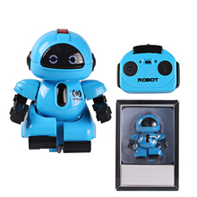 Intelligent RC Mini Pocket Robot Infrared Remote Control Walk Smart Kids Toy Interactive Gift