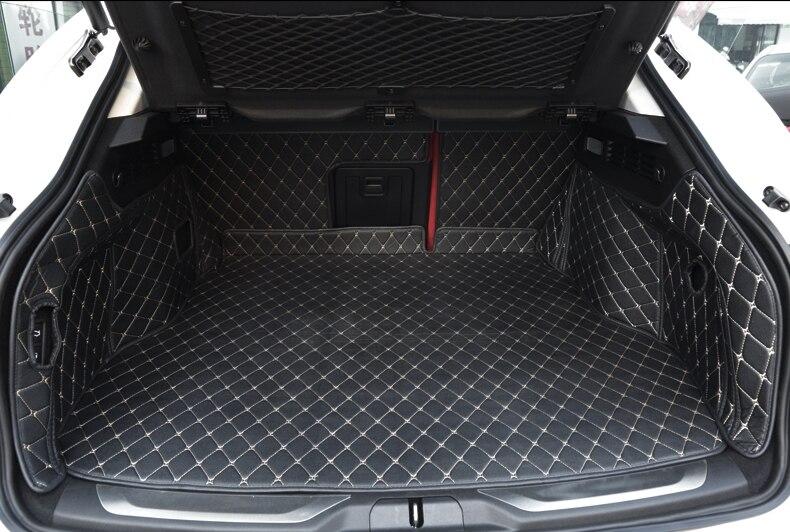 Хорошие коврики! Специальные материалы ствола для Maserati LEVANTE 2018-2016 Водонепроницаемый грузового лайнера загрузки ковры для LEVANTE 2017, Бесплатна...