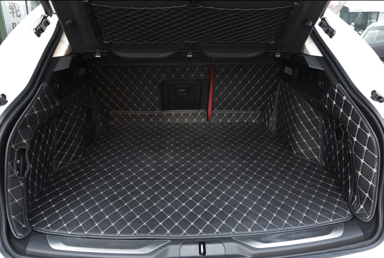 Good mats! Special trunk mats for Maserati Levante 2018 2016 waterproof cargo liner boot carpets for Levante 2017,Free shipping