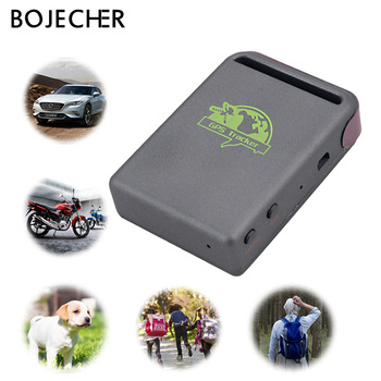 Mini Vehicle GSM GPRS GPS tracker Car Vehicle Tracking Locator Device TK102B Real time Location online platform Over Speed Alarm image