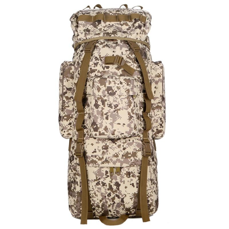 Открытый водонепроницаемый 80L военный рюкзак тактическая сумка спортивная походная дорожная сумка рюкзак охотничий рюкзак Военная Сумка - 5