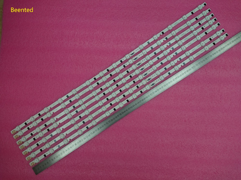 Kit 7 PCS 14LED 880mm LED backlight strip for Samsung UE42F5300 D2GE 420SCB R3 D2GE 420SCA