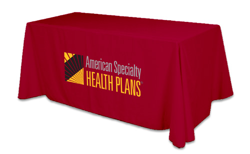 Free Shipping To Usa6ft Company Logo Table Cover Exhibition Tablecloth Advertising Printing Cloth In Flags