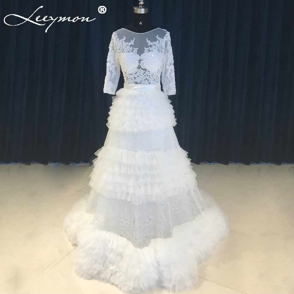 Removable Wedding Gown Dress: New Samples Sexy Lace Wedding Dress Removable Train