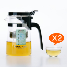 Freies verschiffen Kamjove k-201 teetasse teekanne elegant tasse glas tee-set tasse