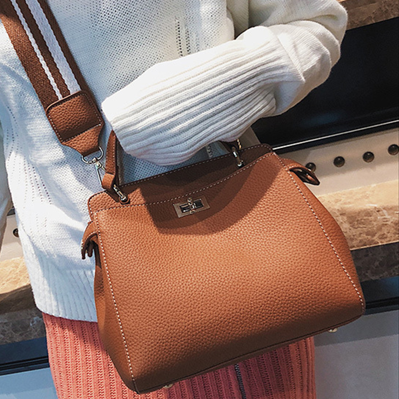 New Fashion Women Bag Solid Small Shoulder Bag Soft Handbag PU Leather Tote Womens Handbags Ladies Totes Casual Shoulder B women fashion tassel pu leather handbag shoulder bag small tote ladies purse comfystyle