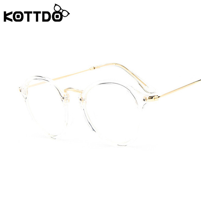 KOTTDO 2017 Women Retro Eyeglasses Frame Women Eye Glasses Vintage Optical Glasses Transparent Frame Oculos Feminino Masculino