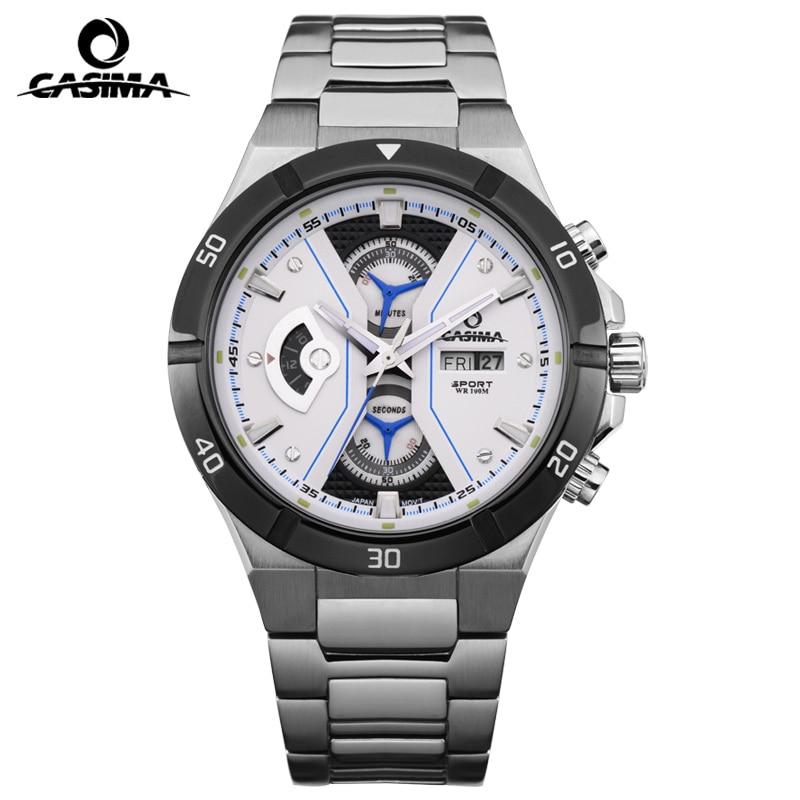 Casima men diver watch mens fashion charm luminous 100m waterproof military sport quartz for Casima watches