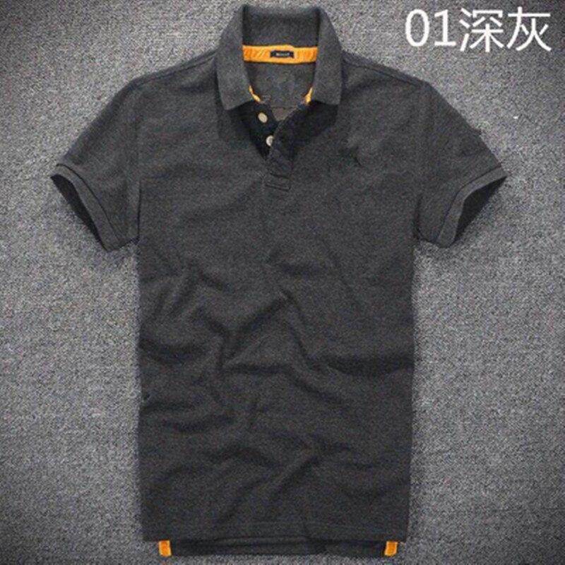 Nouveau Moleton feminino polo abercr & ombie camisa polo hollistic super hommes polo 100% coton qualité supérieure mâle vêtements