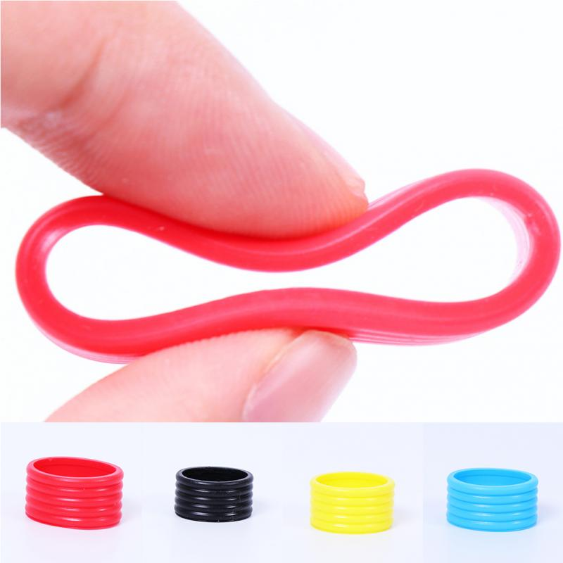Band Sweat Stretchy Absorbing Elastic Sports Tennis Grip Ring Silicone Absorb Fix Ring Racquet Protector Overgrip Badminton 3pcsBand Sweat Stretchy Absorbing Elastic Sports Tennis Grip Ring Silicone Absorb Fix Ring Racquet Protector Overgrip Badminton 3pcs