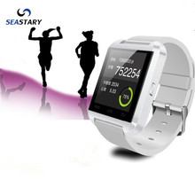 Bluetooth elegante reloj de pulsera teléfono u8 smart watch teléfono smart watch para xiaomi android samsung huawei buena como gt08 dz09 a1 gv18