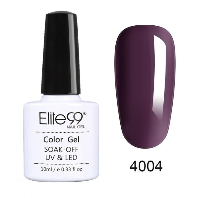 Elite99 10ml Marmelade Farbe Gel Nagellack Semi Permanent Vernis Primer UV Nagel Gel Lack Maniküre Tränken Weg Nagel kunst Gel Lack