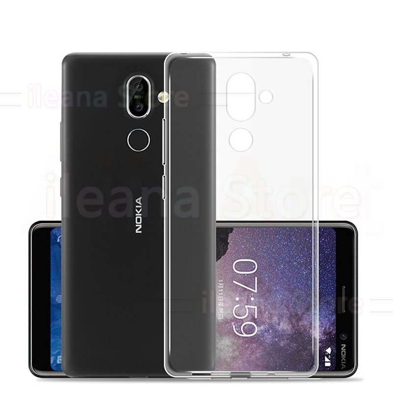 <font><b>TPU</b></font> Case For <font><b>Nokia</b></font> X3 X5 X6 X7 1 2 2.1 3 3.1 5 5.1 6 <font><b>6.1</b></font> 7 7.1 8 9 2018 Plus Ultra thin Transparent Phone Cover Cases Bags image