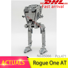 2017 New 05066 Genuine Star Wars Series 75153 The Rogue One Imperial AT ST Walker Set