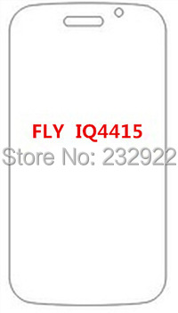 5 Pcs Clear LCD Screen Protector Guard For Fly IQ4415 Quand Era Style 3