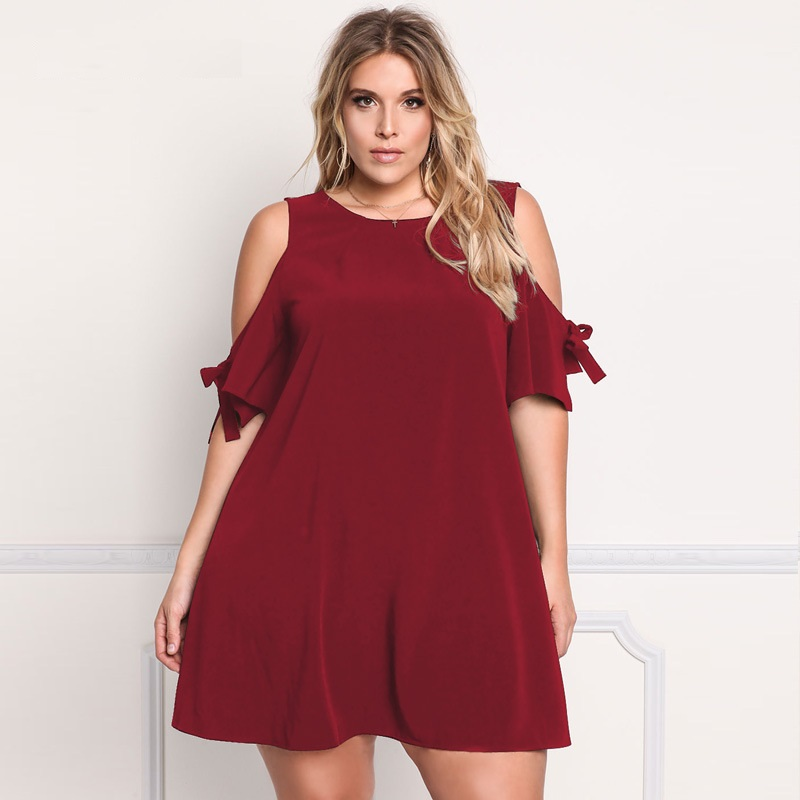 Plus Size Trapeze Dresses