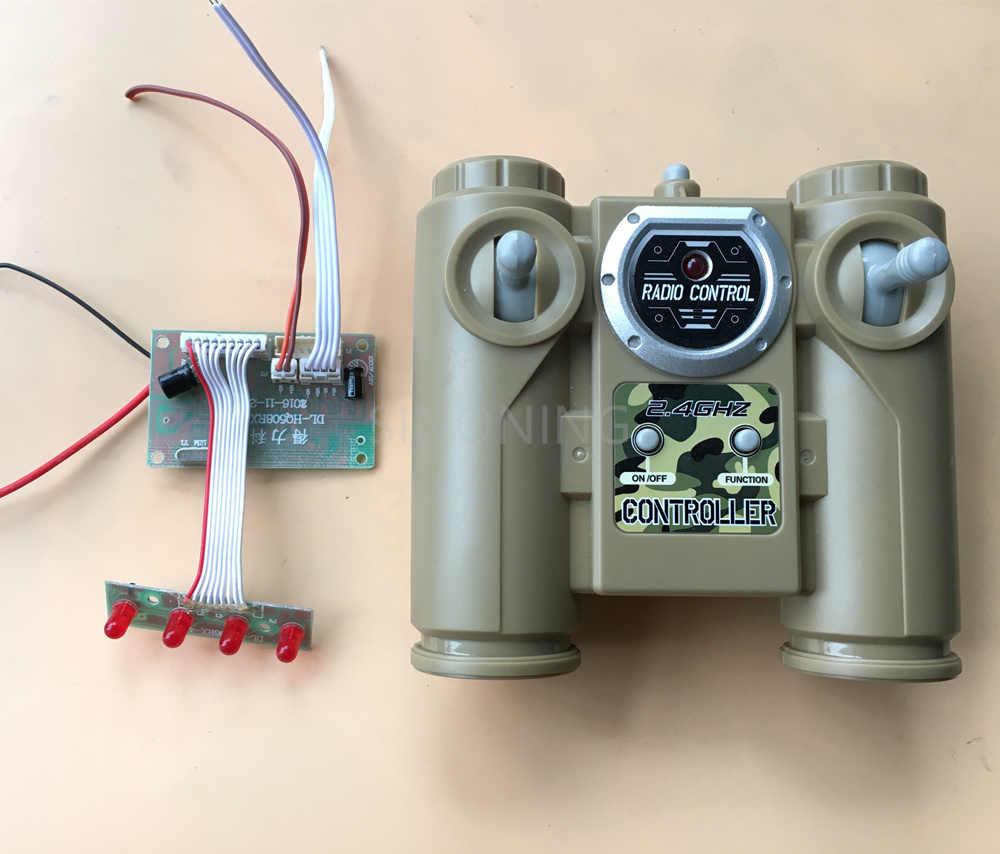 2018 neue 2,4g 6CH fernbedienung HUANQI radio modul einheit bord für DIY Auto Tank Schiff