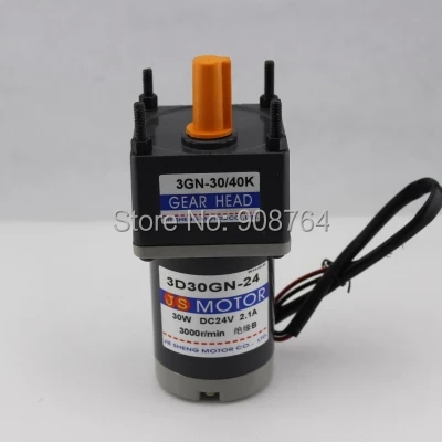 24v 30w 1800rpm 30 1 output output 60rpm dc motor for How to reduce motor speed