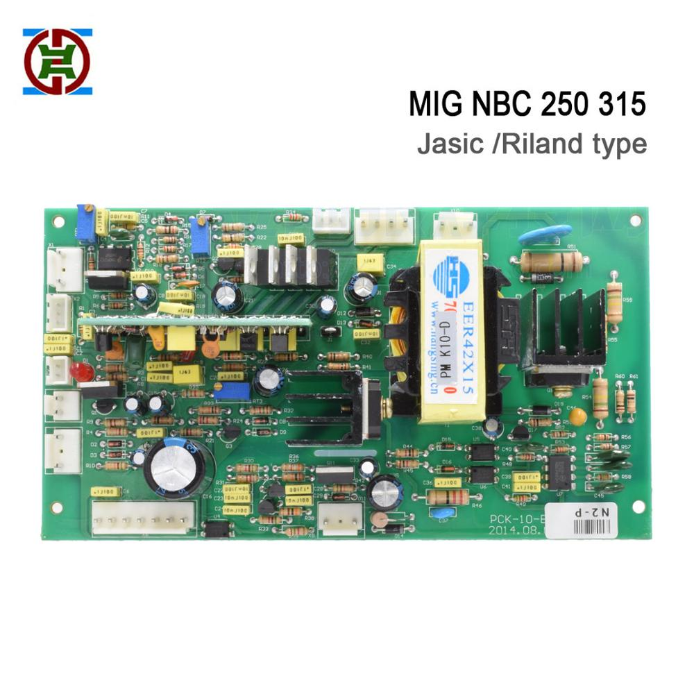 Riland type NBC MIG 250 315 control board for MOSFET CO2 inverter welding machine Good quality