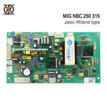 Riland Тип NBC mig 250 315 плата управления для mosfet CO2 Инвертор сварочный аппарат, хорошее качество печатная плата, лучшая пластина