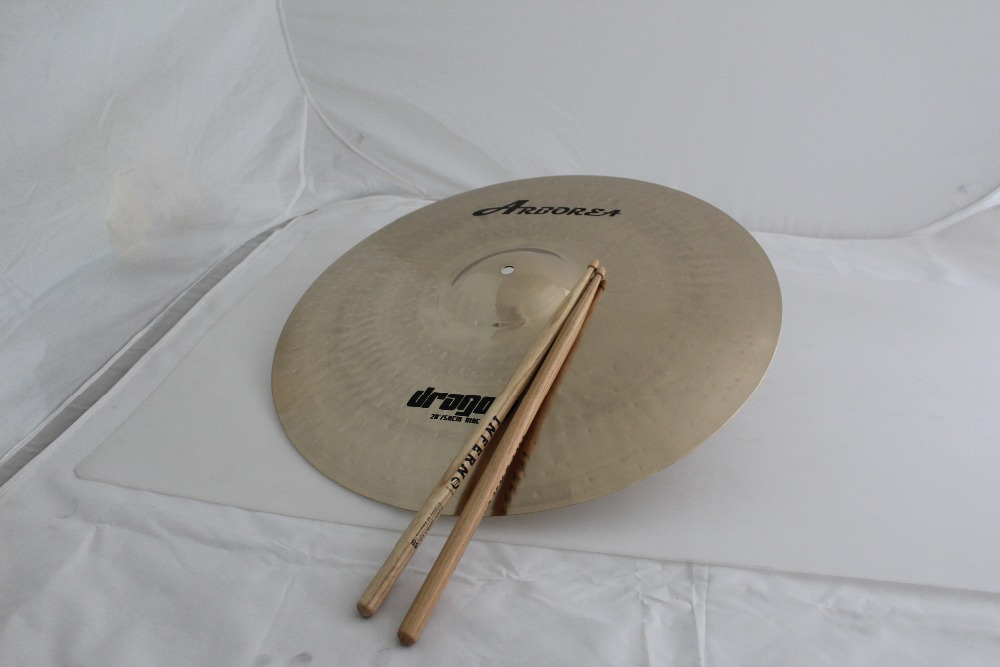 Arborea Cymbals Dragon Series B20 20 Ride 100% Handmade for Pop and RockArborea Cymbals Dragon Series B20 20 Ride 100% Handmade for Pop and Rock
