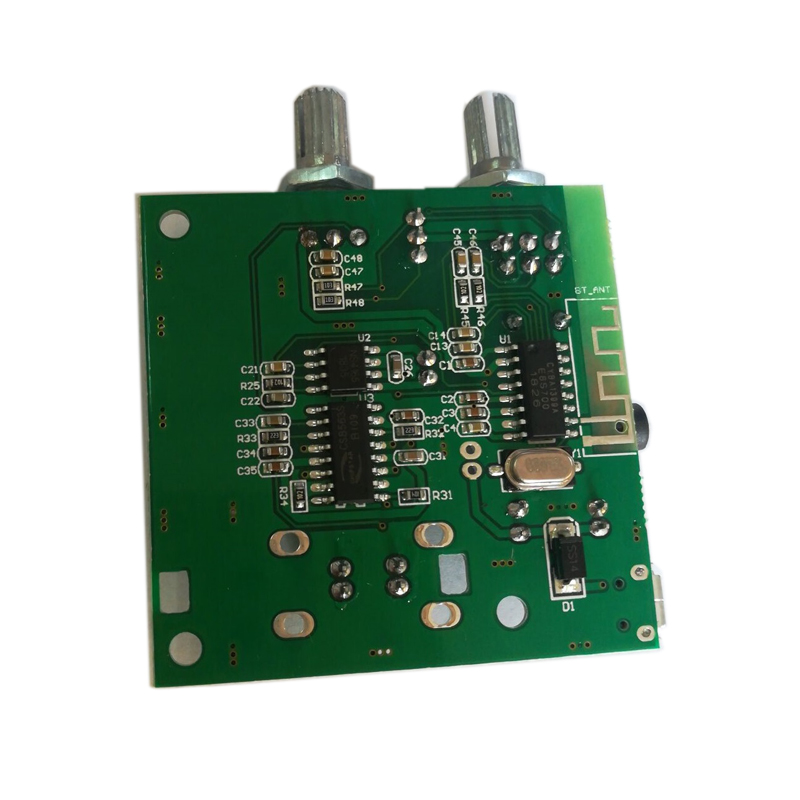 Image 4 - Bluetooth 5.0 Subwoofer amplifier 5W*2+10W  stereo digital amplifier board 5V3A with bass adjustment-in Amplifier from Consumer Electronics