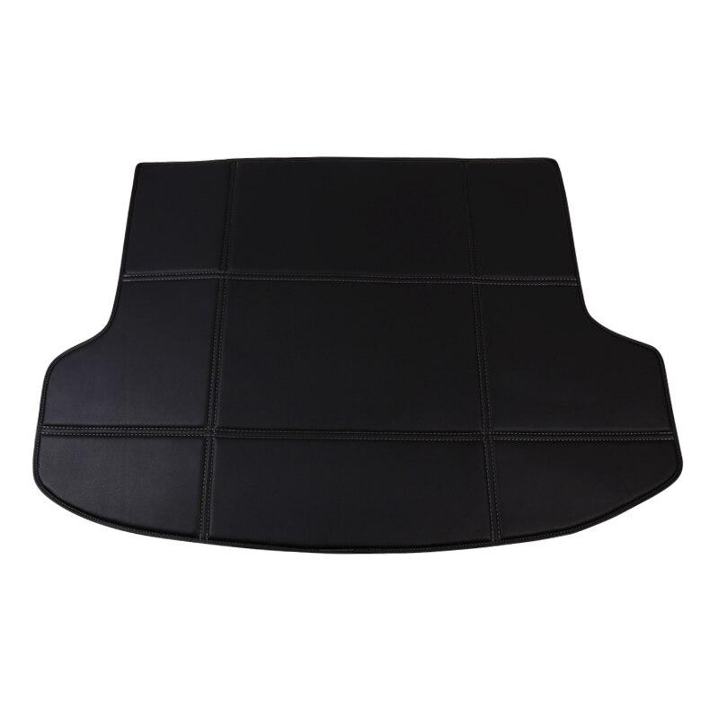 Custom fit Car Trunk mat for Skoda Octavia 1 2 a5 a7 Superb 2 3 Yeti Fabia 3 Rapid spaceback tail box floor tray liner