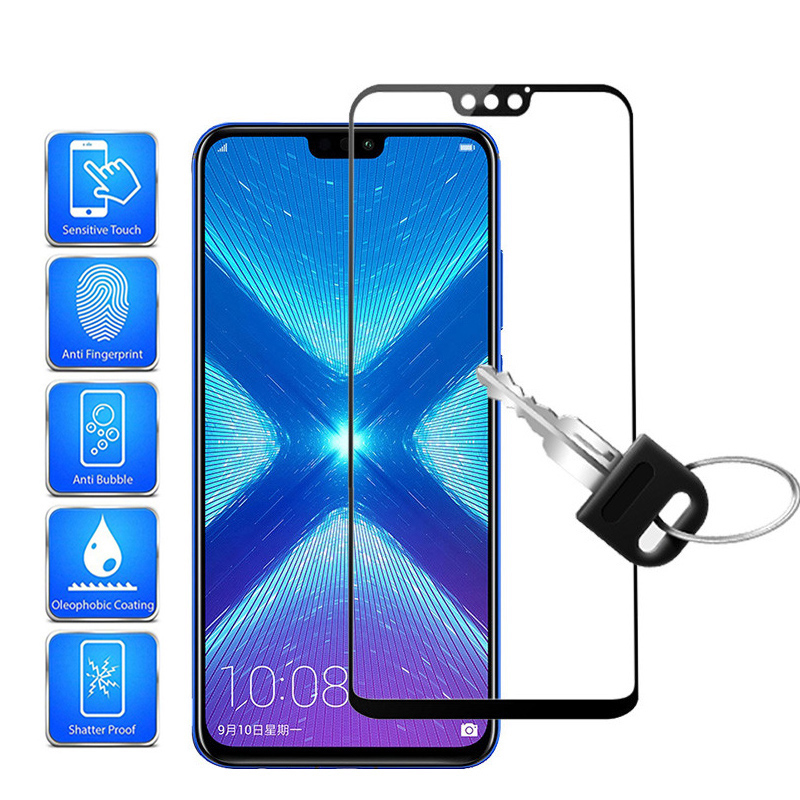Premium Protective Glass On For Honor 8X 8S 8A 8C 9X Tempered Glass For Huawei Honer 8X Honor8X X8 S8 C8 A8 X9 Screen Protectors