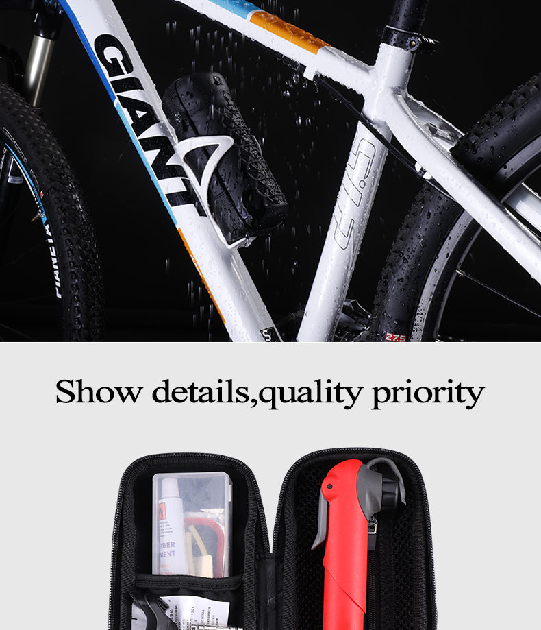 Bicycle Accessories Rockbros Cycling Tool Bag Waterproof Portable Fashion Sports Kettle Shape Bike Bicycle Bags Outdoor Accessories Sports & Entertainment