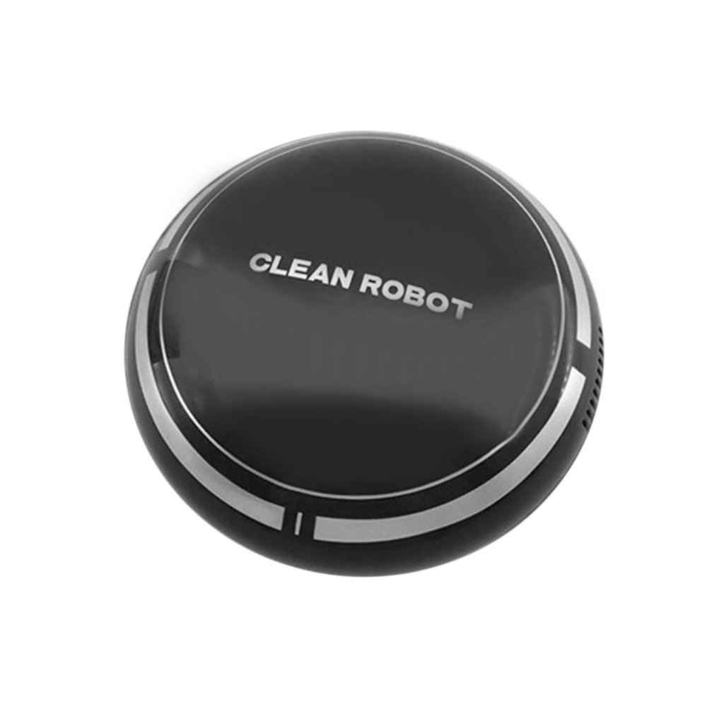 Mini Rechargeable Smart Sweeping Robot Slim Sweep Suction Machine Small Mini Vacuum Cleaner Sweeping Household smart sweeping robot vacuum cleaner for home ultrathin grazing mopping integrated machine free shipping