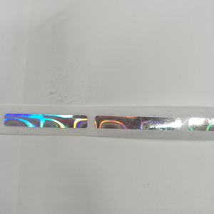 Image 3 - 1000pcs/roll 6x40mm beautiful Hologram laser scatch off sticker for game card or wedding game