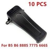 עבור baofeng XQF 10 יח חזרה Belt Clip עבור Baofeng UV-B5 UV-B6 888S שני הדרך רדיו (2)