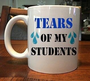 Tranen Meiner Studenten Lustige Lehrer Becher Tasse Milch Bier