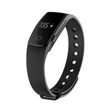 Практичный-Bluetooth Smart наручные часы телефон браслет сердечного ритма Мониторы Фитнес трекер черный