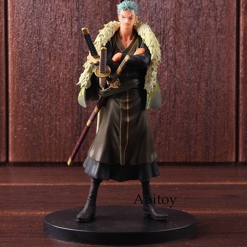 Anime One Piece DXF The Grandline Men 15th Edition vol.5 Roronoa Zoro Action Figure PVC Collectible Model Toy 1