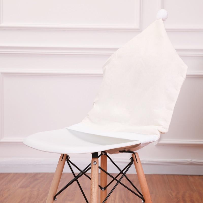 Aliexpress Com Buy Santa Claus Cap Chair Cover Christmas Dinner