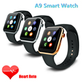 2016 hot a9 smartwatch bluetooth relógio inteligente para apple iphone & samsung android telefone reloj relogio inteligente relógio de smartphones