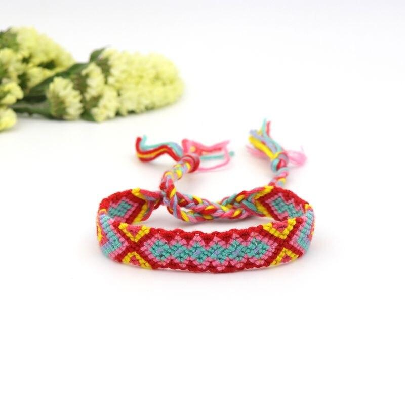 Boho étnica Nepal pulsera hecha a mano cadena Popular abrigo de ...