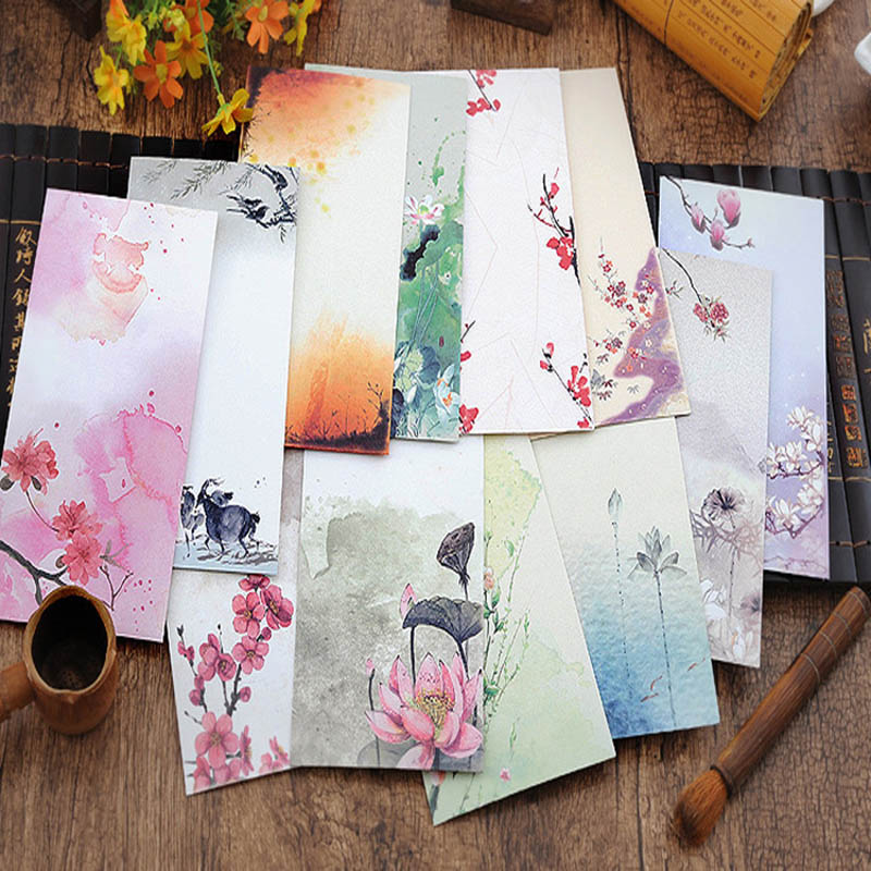 10 pieces   lot vintage chinese style vintage craft paper