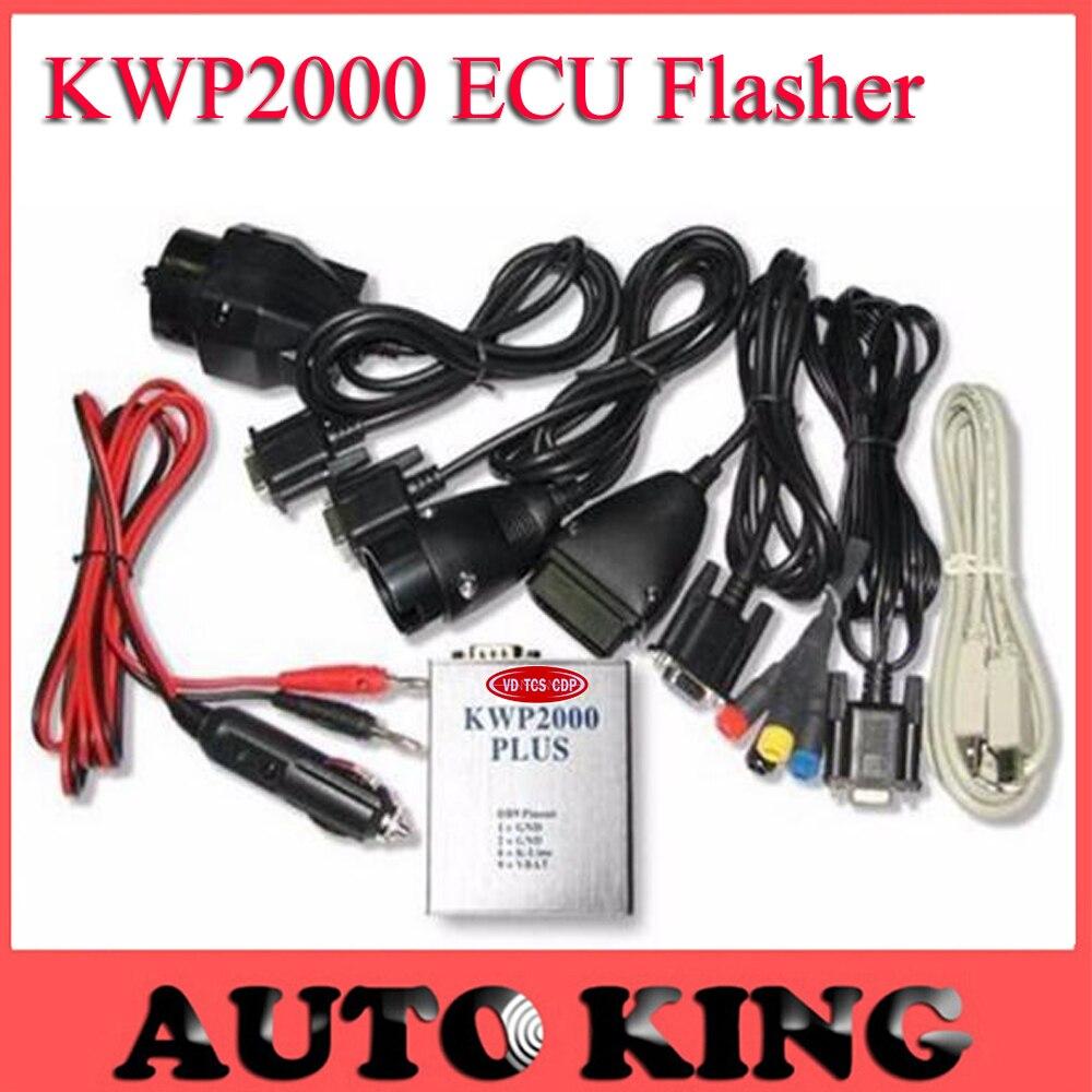 Цена за БОЛЬШИЕ СКИДКИ!!! KWP2000 Плюс ECU REMAP Flasher OBD2 чип ECU тюнинг инструмент ---- Быстрая Доставка ЛУЧШИЙ KWP2000 + оптовой