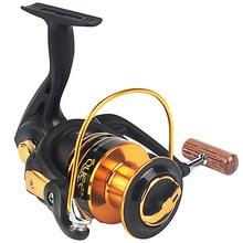 12 Ball Bearing Brass Carp Spinning Fishing Reel Salt Water Wheel Trolling Coils Line font b