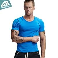 Aimpact Men S Cotton Tshirt Running Casual Work Out T Shirt Male Fashion Sport Short Sleeve