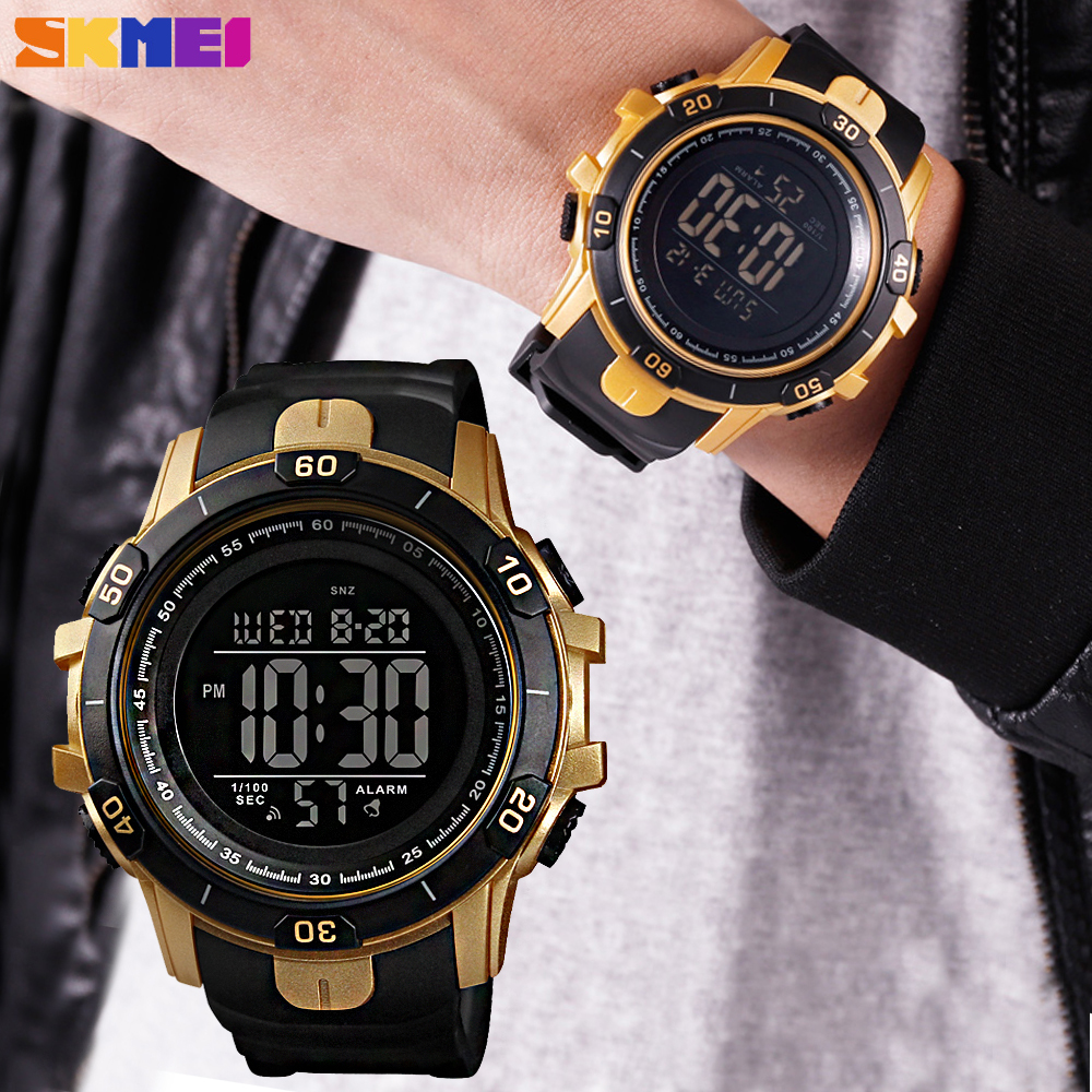SKMEI Top Brand Outdoor Sport Digital Watch Fashion Waterproof Clock Chronograph Military Mens Wristwatches Relogio MasculinoSKMEI Top Brand Outdoor Sport Digital Watch Fashion Waterproof Clock Chronograph Military Mens Wristwatches Relogio Masculino